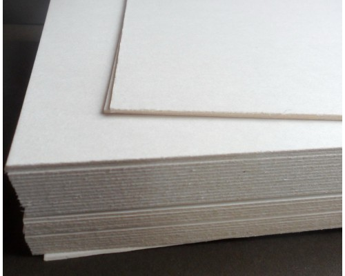 Основа для альбома пивной картон 20*20 см. 1 лист, толщина 1,5 мм