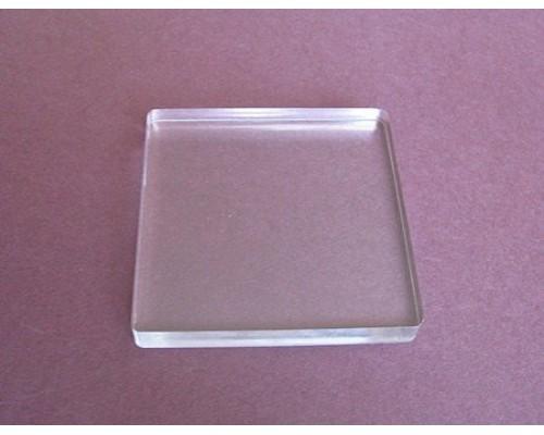 Основа для штампа -акриловый блок 8*8см