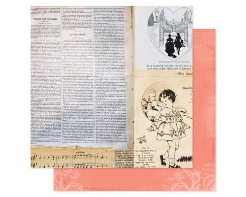 """бумага Pink Paislee """"Spring Jubilee: """"Soiree"""""""