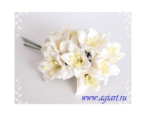 Лилии белые, 5 шт.