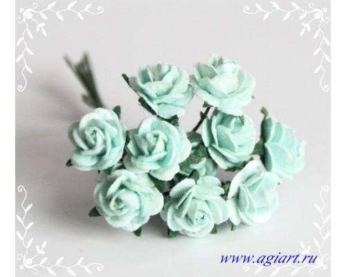 розы мятные 1 см, 10шт.
