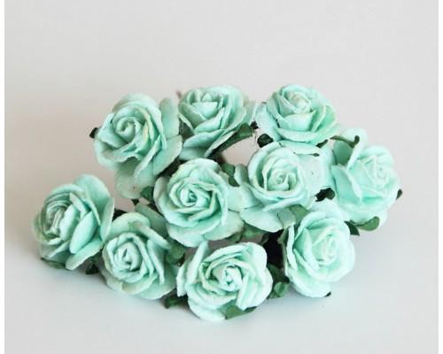 Розы мятные 2 см, 5 шт.