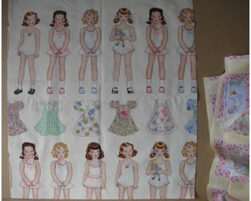 "Ткань ""Baby doll №1"", 50*55 см"