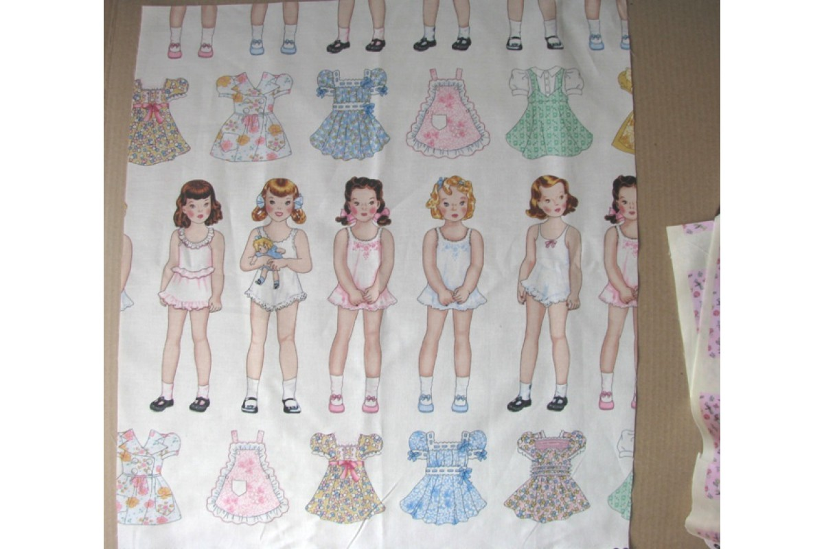 "Ткань ""Baby doll №2"", 50*55 см"